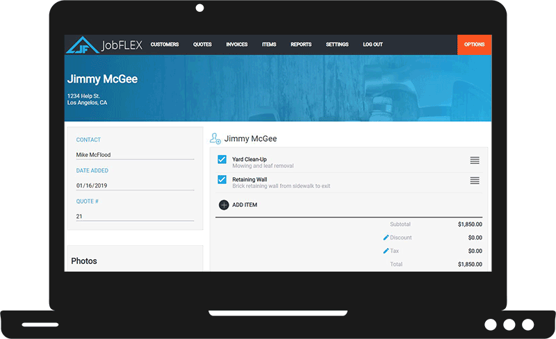 New Online Invoice Maker & Quoting Tool from JobFLEX