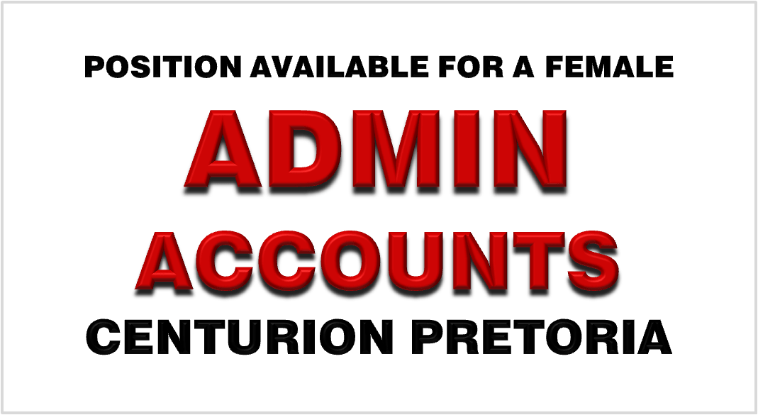 ADMIN / ACCOUNTS LADY
