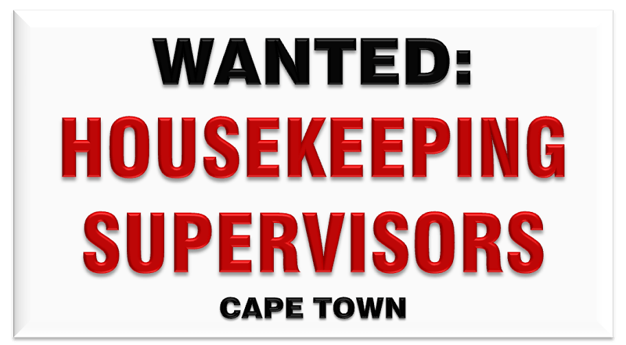 HOUSEKEEPING SUPERVISORS FOR CITY HOTEL