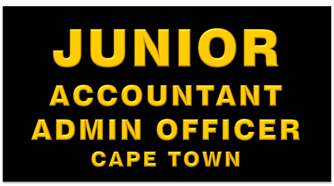 JUNIOR ACCOUNTANT ADMIN OFFICER