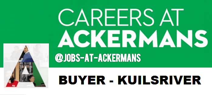 BUYING MANAGER (MALE SBU) KUILSRIVER