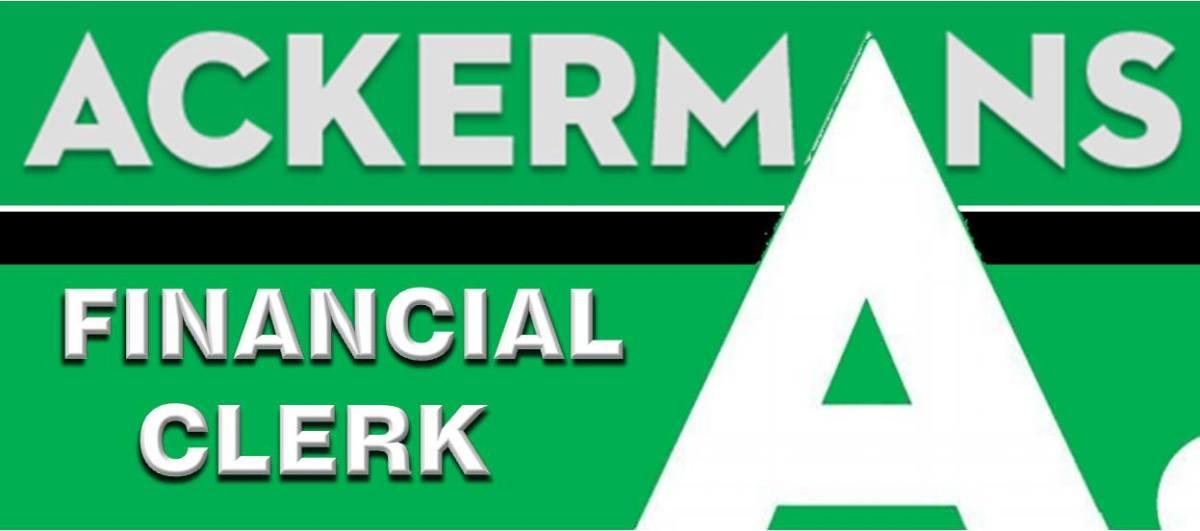 FINANCIAL CLERK: FIXED ASSETS