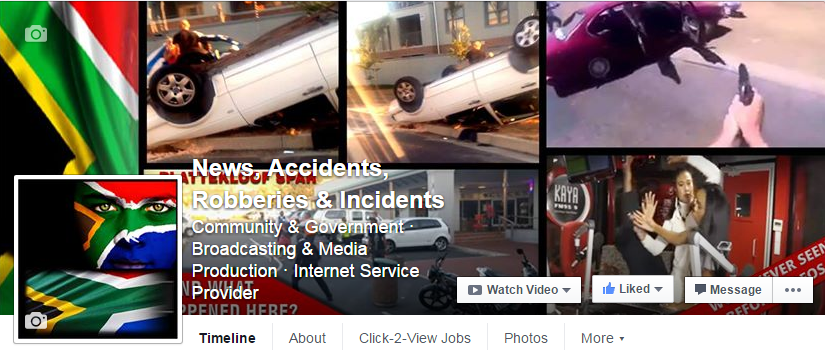 news accident page
