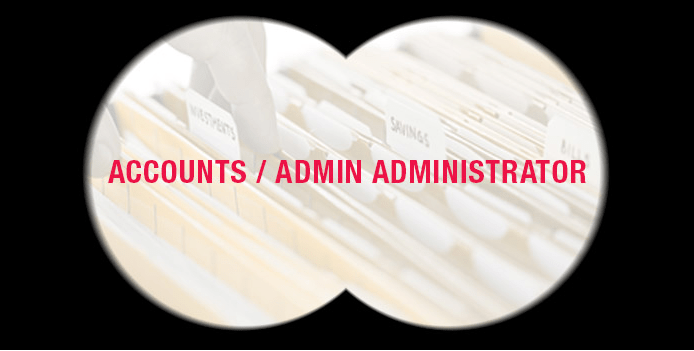 ACCOUNTS ADMINISTRATOR