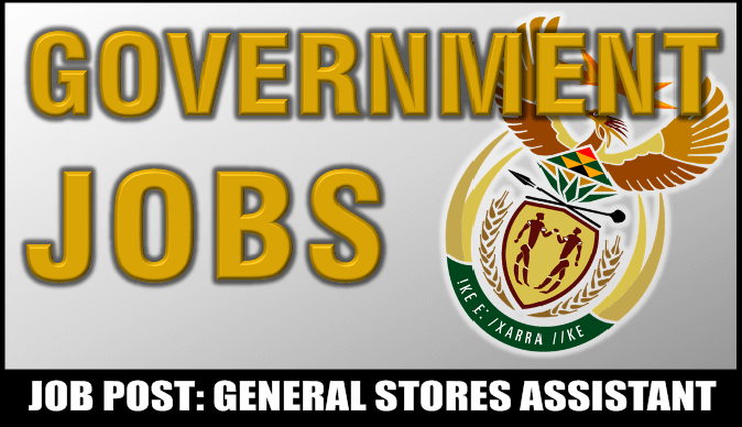GENERAL STORES ASSISTANT