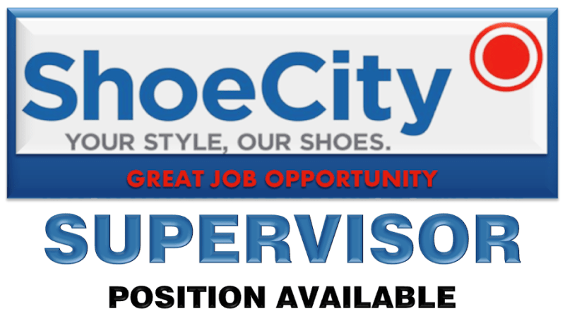 SHOE CITY SUPERVISOR