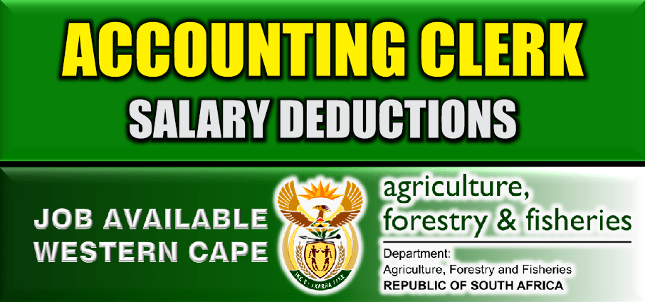 ACCOUNTING CLERK: SALARY DEDUCTIONS
