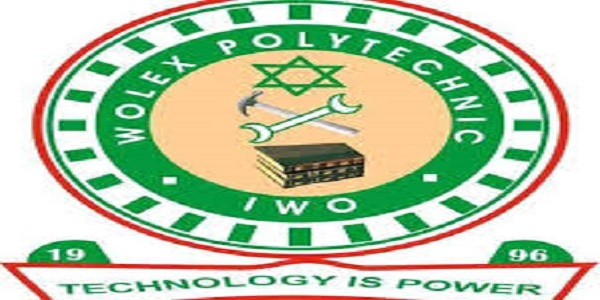 Wolex Polytechnic ND Full-Time & Part-Time Admission 2019/2020