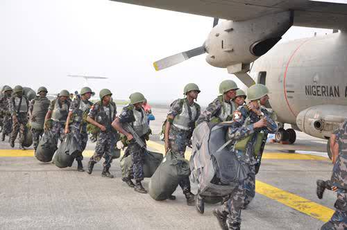 Nigerian Air Force Airmen/Airwomen Recruitment Excercise (BMTC 2020)