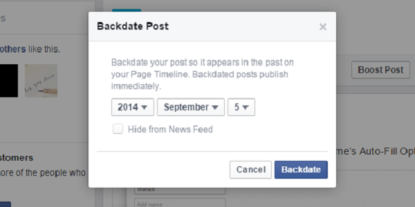Learn How to Use Facebook Post Backdate Feature on Mobile Phones