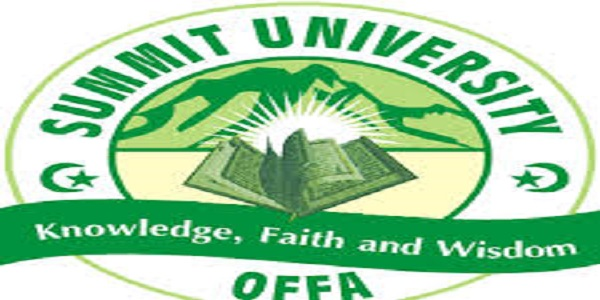 Summit University, Offa Post UTME, Admission and Available Courses