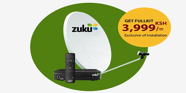 Zuku TV Frequency, TPs, Symbol Rates, Channel List, Packages & Prices