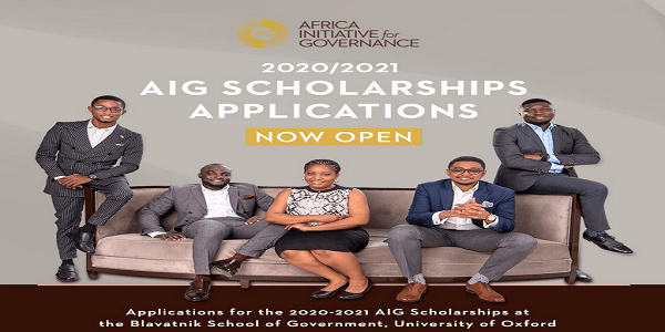 AIG Scholarships 2020 – 2021 for Nigerians & Ghanaians