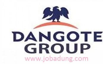 Dangote graduate trainee recruitment