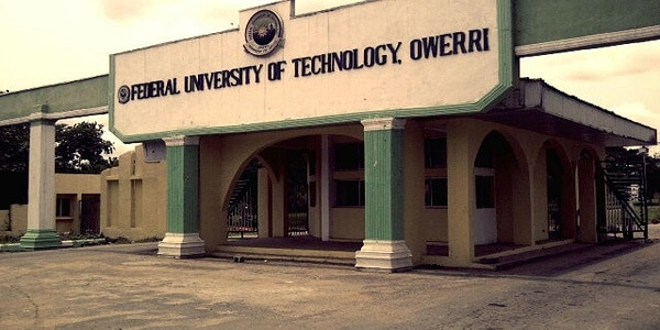 FUTO Cut Off Mark 2020/2021 And List Of Courses Offered
