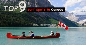 top 9 surf spots in Canada