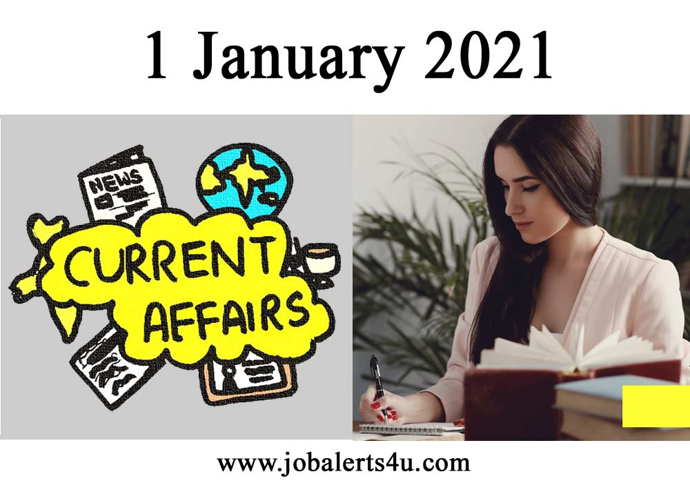 1 january current affairs