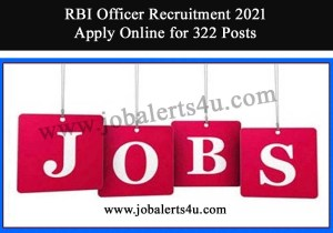 rbi recruitment 2021 officer grade b