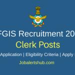 Air Force Group Insurance Society (AFGIS) 2018 Junior Clerk Posts – 03 Vacancies | Graduation | Apply Now