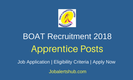 Board Of Apprenticeship Training (BOAT) Graduate/Diploma Apprentice Posts – 04 Vacancies | B.E/B.Tech, Diploma | Apply Now