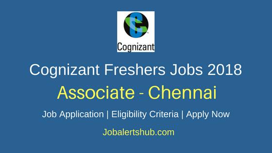 Cognizant 2018 Chennai Process Executive Fresher Jobs | Any Graduation | Apply Now