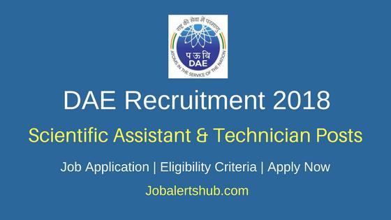 DAE- DCSEM Recruitment 2018 Scientific Assistant, Technician, Clerk & Other Posts – 36 Vacancies   SSC/ HSC, ITI, Diploma, Degree   Apply Now