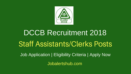 District Cooperative Central Bank Recruitment 2018 Staff Assistants/Clerks Posts – 74 Vacancies | Graduation | Apply Now
