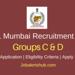 Directorate of Forensic Science Laboratories Mumbai 2018 Scientific Assistant, Clerk, Typist, Laboratory Assistant & Other Posts – 140 Vacancies | 10th, 12th, Graduate, B.Sc | Apply Now