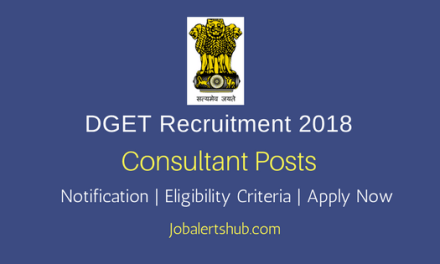 Directorate General of Training Consultant 2018 Posts – 05 Vacancies | IT, Diploma, Degree | Apply Now