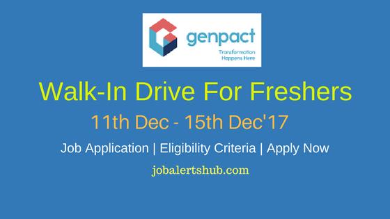 Genpact 2017 Recruitment Freshers | Finance Associate | Graduate | Chandigarh, Lucknow, Kolkata | Apply Online
