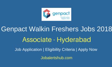 Genpact Procurement Specialist Freshers Jobs 2018 Hyderabad | Graduation | Walkin: 4th June'18