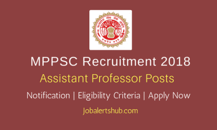 MPPSC 2018 Assistant Professor Jobs – 2968 Vacancies | PG, Ph.D | Apply Now