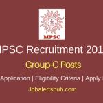 Maharashtra Public Service Commission 2018 Group-C Posts – 862 Vacancies | Graduation | Apply Now
