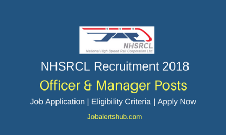 NHSRCL 2018 Officer & Manager Posts – 23 Vacancies   Graduation/PG   Apply Now