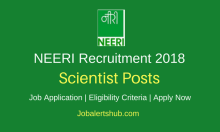 CSIR-National Environmental Engineering Research Institute Recruitment 2018 Scientist, Principal Scientist & Others Jobs – 13 Posts   M.E./ M.Tech, Ph.D   Apply Now