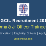 PGCIL Diploma Trainee & Jr Officer Trainee Posts 2018 – 28 Vacancies | Diploma, Any Degree, PG | Apply Now