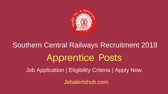 South Central Railway (SCR) 2018 Recruitment Apprentice Posts – 4103 Vacancies | 10th, ITI | Apply Now