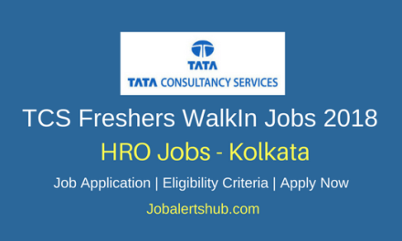 TCS BPS HRO Jobs 2018 | Degree/PG with Experience | Walkin: 24th March'18 (10 AM Onwards)