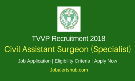 Telangana Vaidya Vidhana Parishad Adilabad 2018 Civil Assistant Surgeon, Nursing, Staff Nurse & Other Jobs – 21 Posts | SSC, Inter, Diploma, MD, DA, DM | Apply Now