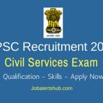 UPSC Civil Services Jobs 2018 – 782 Jobs | Any Degree | Apply Now