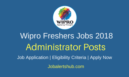 Wipro 2018 Hyderabad Administrator – Desktop Support Fresher Jobs | Graduation, PG | Apply Now
