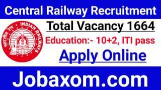 North Central Railway Recruitment 2021 - Apply Online for 1664 Act Apprentice Post