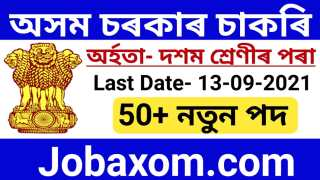 DC Office Golaghat Recruitment 2021 – Apply for Gaonburah Vacancy