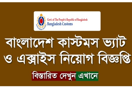 BD Customs Job Circular 2021 Apply Process -www.customs.gov.bd