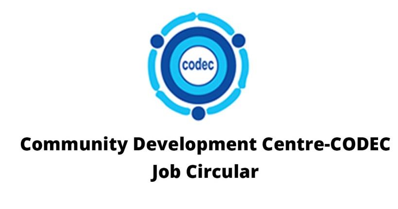 Community Development Center – CODEC Job Circular 2017