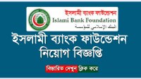 Islami Bank Foundation Job Circular 2018