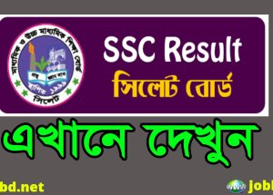 Sylhet Board SSC Result 2018 with Full Marksheet & Number