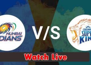 Mumbai Indians vs Chennai Super Kings Live Streaming|IPL Live Streaming.