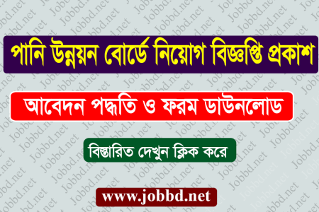 Bangladesh Water Development Board Job Circular 2020 Exam Date