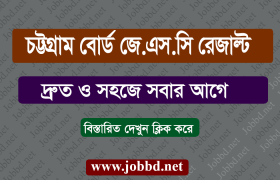 Chittagong Board JSC Result 2018